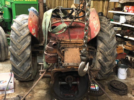 Vintage Tractor Restoration - Part 2
