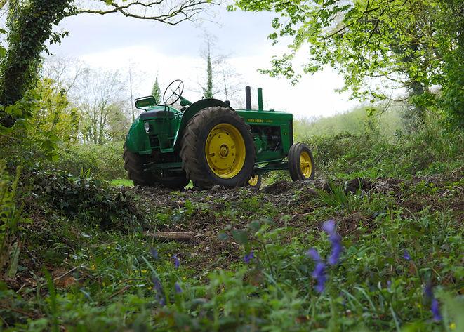 John_Deere Farming Heritage Tamar Tracto