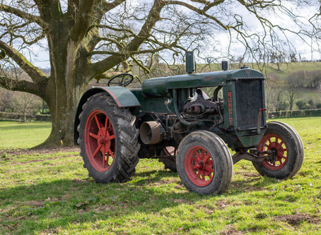Classic Tractor Collection - Rumely 6A Feature