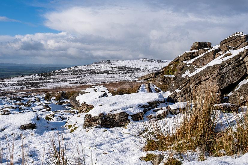 Dartmoor in the Snow - Photographic Print