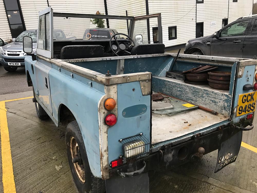 Tamar Vintage Tractors Restoration Project