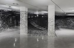 Installation-Photograph-3,-Piranesi-Shiota--Prisons-of-the-Imagination-at-the-Tel-Aviv-Museum-of-Art