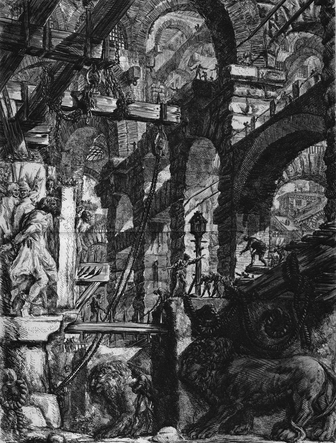 G.B.-Piranesi,-from-the-series-ÔÇ£Carceri-dÔÇÖinvenzione,ÔÇØ-ca.-1761Venezia,-..