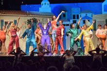 In Community Little Theatre's production of 'Mamma Mia' love conquers most … but cast captivates all