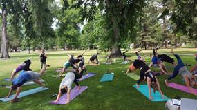 Midsummer yoga 2