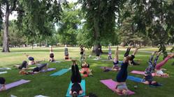 Midsummer yoga 3