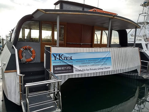 Myall Coast Tours Y-Knot luxury private cruises for functions and parties