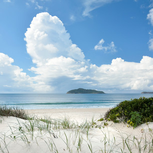 Bennetts Beach out to Cabbage Tree Island