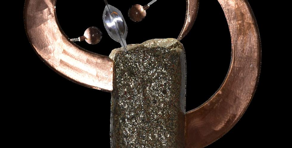 atelier fabrice / sculpture lumineuse / granit 1 1