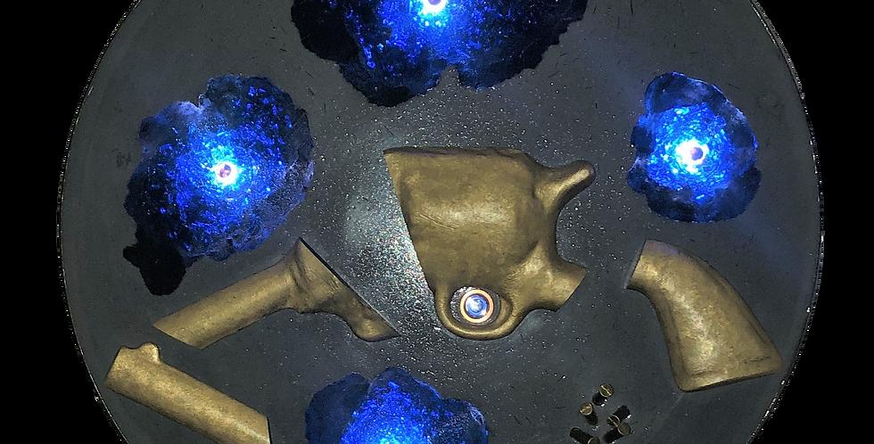 atelier fabrice | sculptures lumineuses | eris sat 1