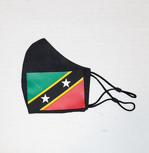 St.Kitts & Nevis Flag Protective Mask