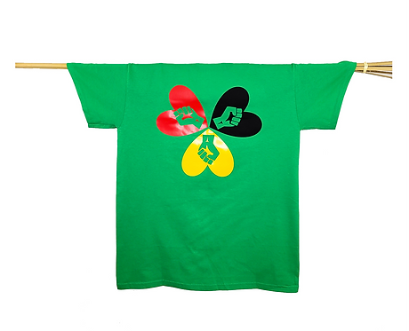 Black Power Fist Love T-Shirt