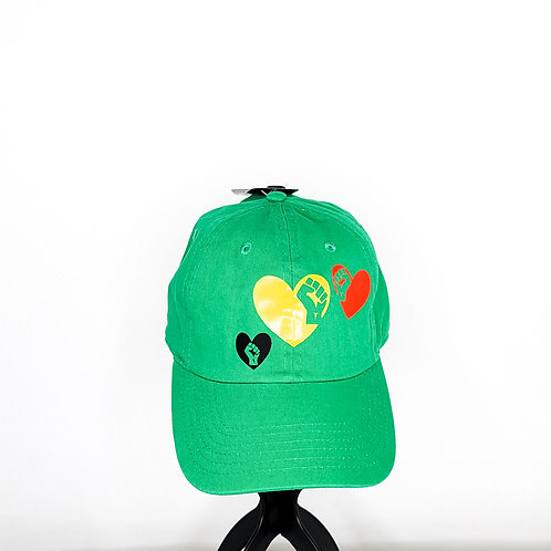 Black Power Fist Love - Baseball Cap