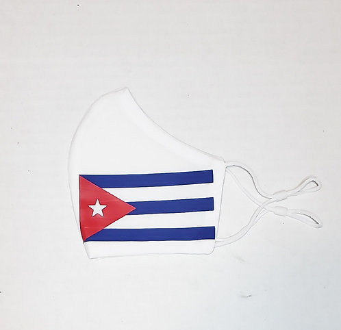 Cuba Flag Protective Mask