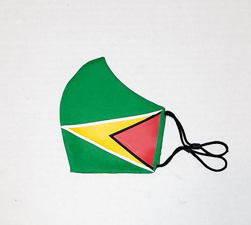 Guyana Flag Protective Mask