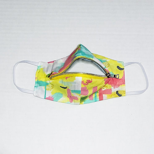 Zipper mask (Click to view print options & colors)