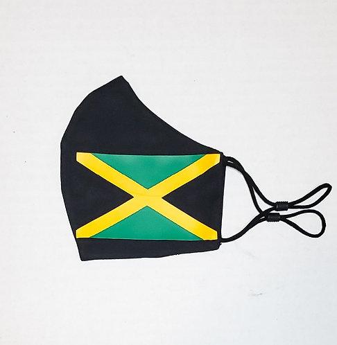 Jamaica Flag Protective Mask