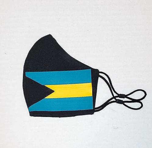 The Bahamas Flag Protective Mask