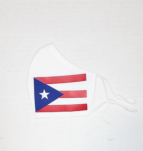 Puerto Rico Flag Protective Mask