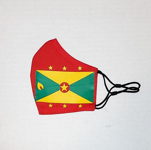 Grenada Flag Protective Mask