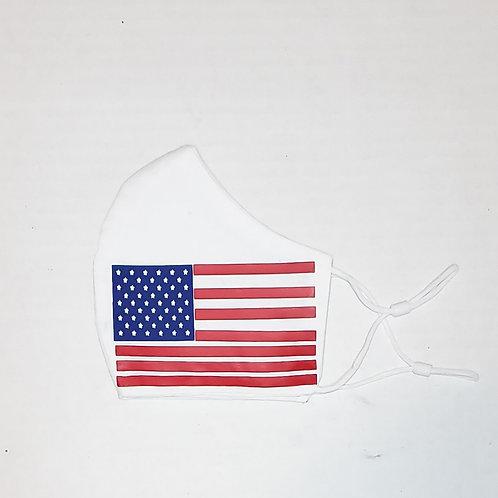 USA Flag Protective Mask