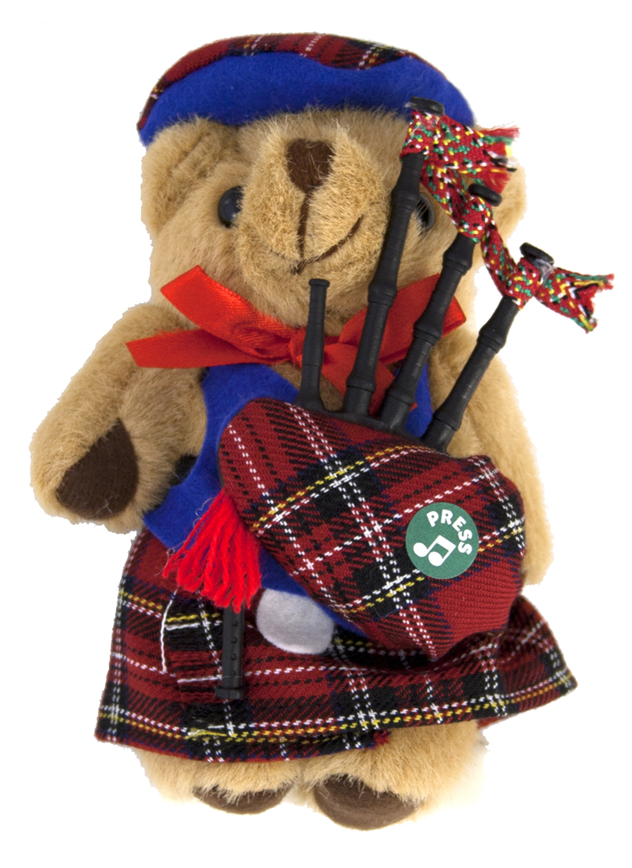 "Musical 5"" Highland Teddy"