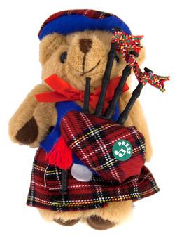 "Musical 5"" Highland Teddy"