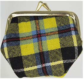 15 Cornish Tartan 7cm purse