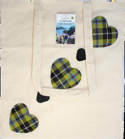 Cornish Tartan Tote Bag