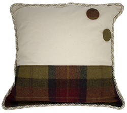 03 Harris Tweed Cushion