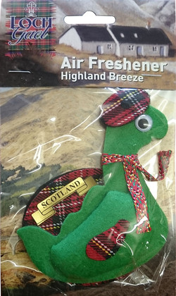 AF5 Loch Gael Nessie Air Freshener Code