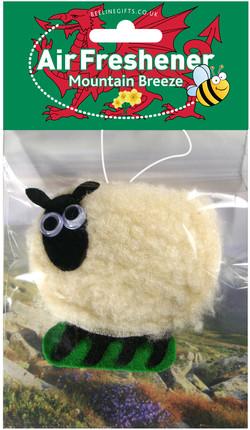 Welsh Sheep Air Freshener