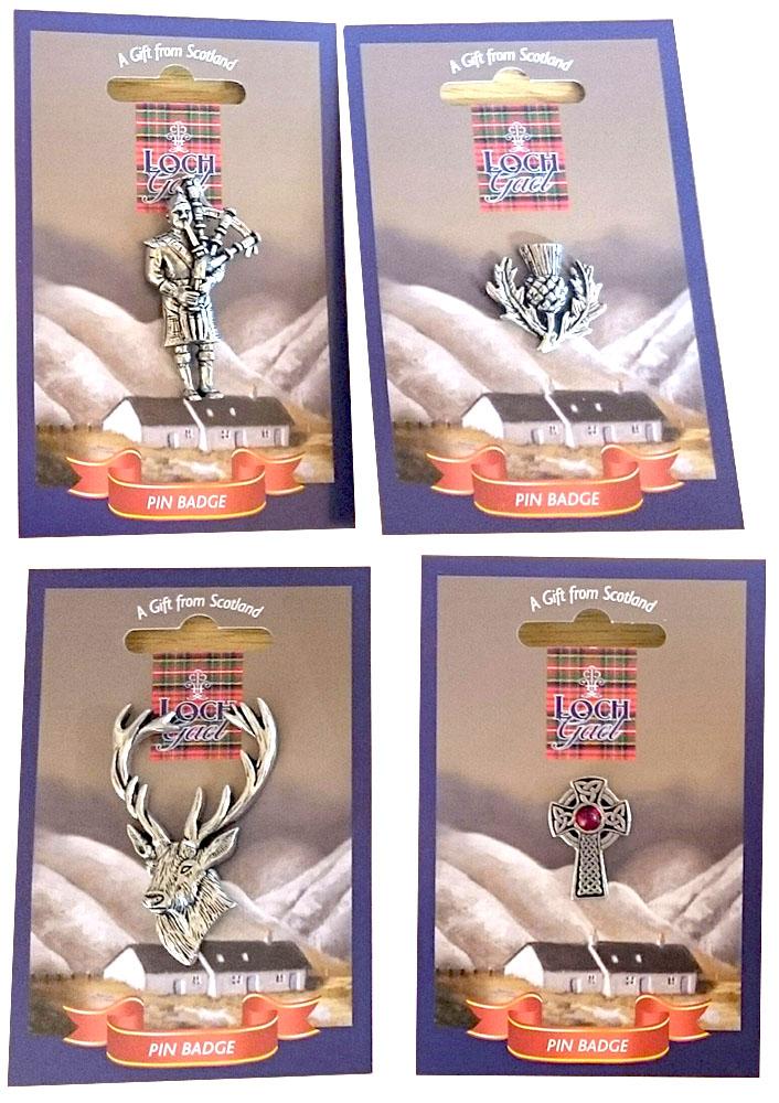 M21 LochGael Handmade Pewter Pin Badges
