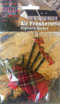 AF1 Loch Gael Bagpipe Air Freshener Code 2