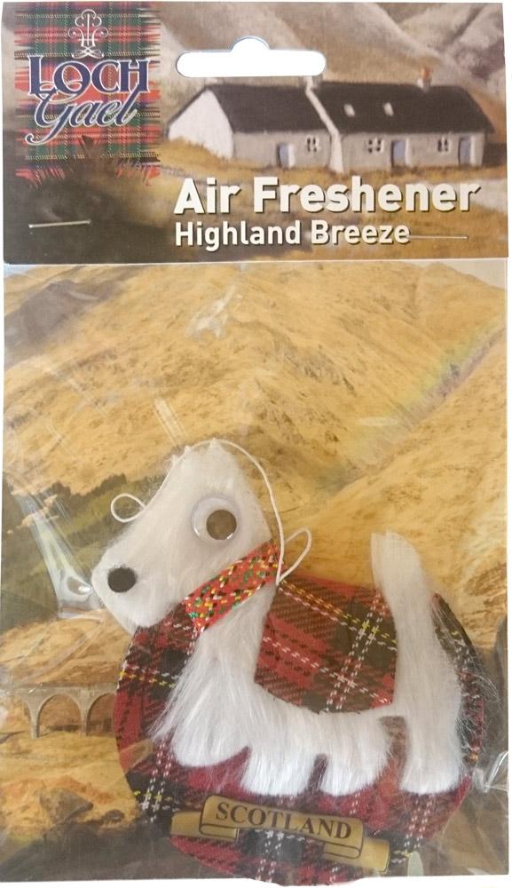 AF4 Loch Gael Westie-Scottie Air Freshener2