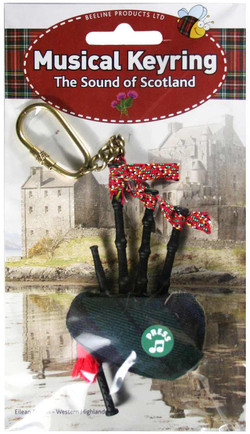 Black Watch Tartan Musical Keyring