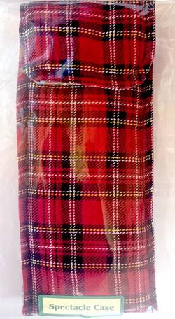 P7 Scottish Tartan Spectacle Case