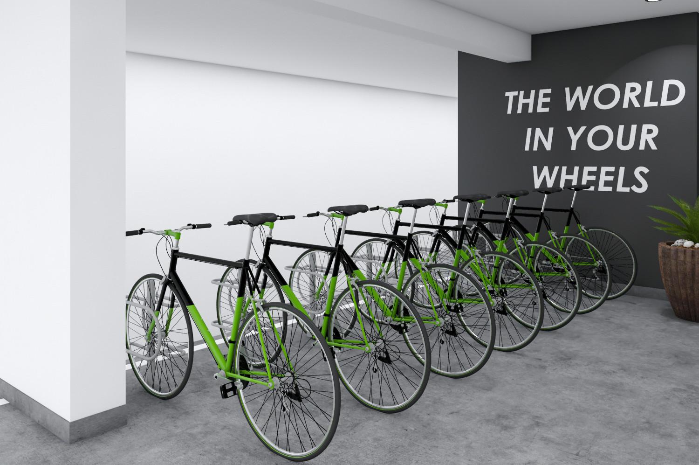 Zona de bicicletas