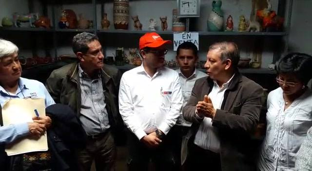 En el marco del 'Día del Artesano', junto a una delegación de autoridades, integrada por el ministro de Comercio Exterior y Turismo, Edgar Vásquez y el gobernador Regional de Cajamarca, Mesías Guevara, realizamos una visita a la Ruta Turística Artesa