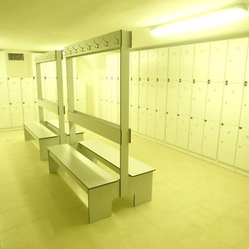 Lockers room חדר מלתחות