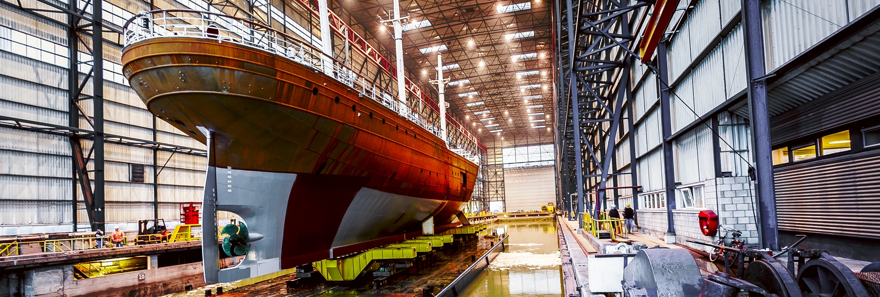 Ship repair and maintenance companies
