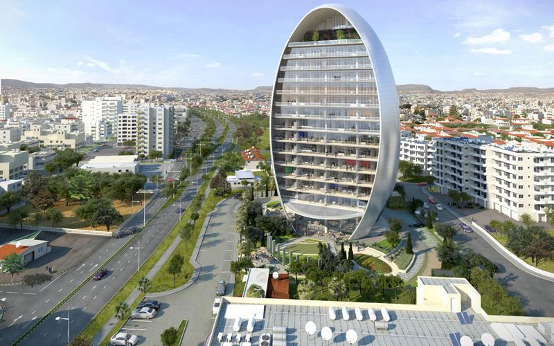 Oval building, Limassol