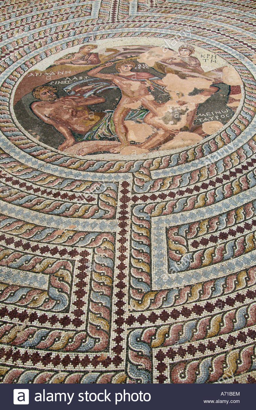 paphos-mosaic-pafos-roman-archeology-archeological-site-excavation-A71BEM