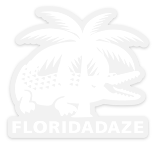 FLDZ Croc Logo Sticker