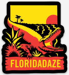 Gator Sticker