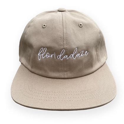 """""""Floridadaze Script"""" Cap - Khaki"""