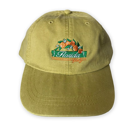 """Orange Groves"" Cap - Chamois"