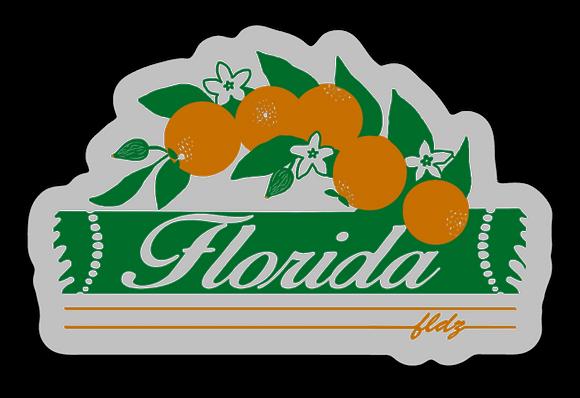 Florida Groves Sticker