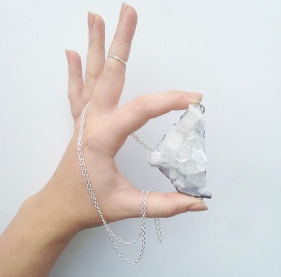 Marisa Dzintars hand model for South&Stone Jewelry