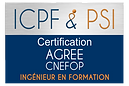 Logo ICPF & PSI Agree CNEFOP Ingenieur e